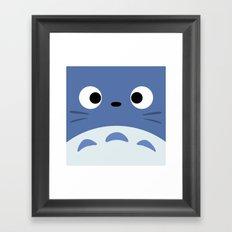 Blue Troll Framed Art Print