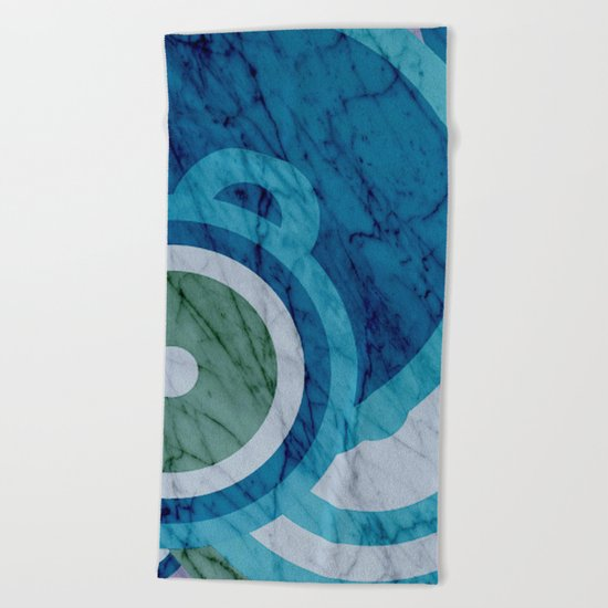 very retro II Beach Towel
