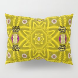 stars and flowers in the forest of paradise love popart Pillow Sham