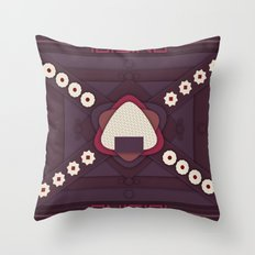 Onigiri Throw Pillow