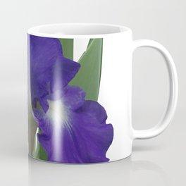 Stellar Lights, Deep blue-violet Iris Coffee Mug