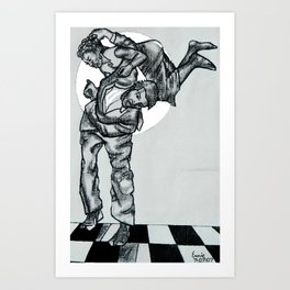 DANCE HALL Art Print