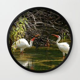 Ibis Dating Place Wall Clock