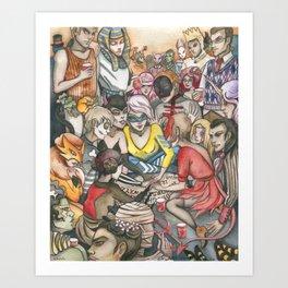 Smash Art Print