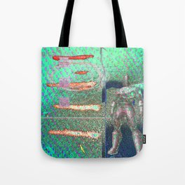 Potted Meat Man Goes Bonkers Tote Bag