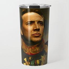 Nicolas Cage - replaceface Travel Mug