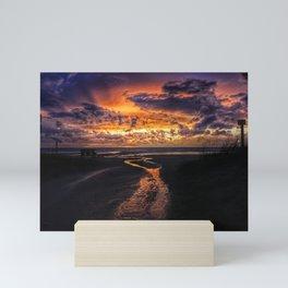 Sauble Beach Art Decor. Mini Art Print