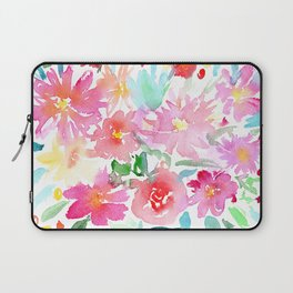 Blooming bouquet #2    watercolor Laptop Sleeve