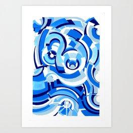 Seigaiha Series - Alliance Art Print