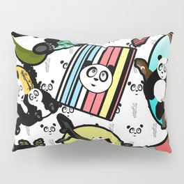 Panda Mix Pillow Sham