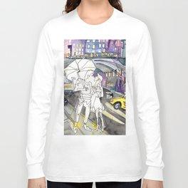 Kissing in New York City Long Sleeve T-shirt