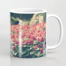 In red Mug