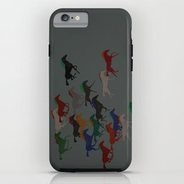 Horse Stampede iPhone Case