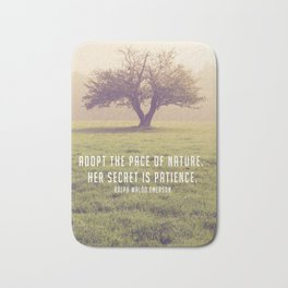 Adopt the pace of Nature Bath Mat