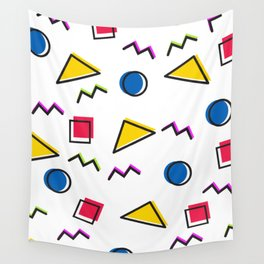1980s retro pattern (Version 2) Wall Tapestry