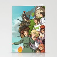 ghibli Stationery Cards featuring Ghibli by DustyLeaves