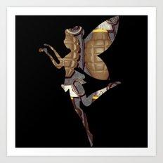 Grenade Fairy Art Print
