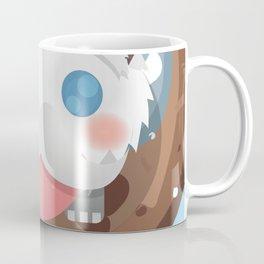 Poro with Mustache on a Poro-Snax Coffee Mug