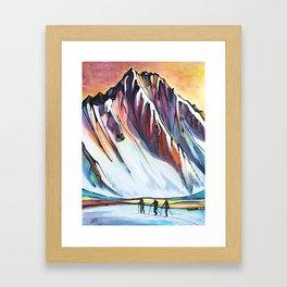 Spring Tour Framed Art Print