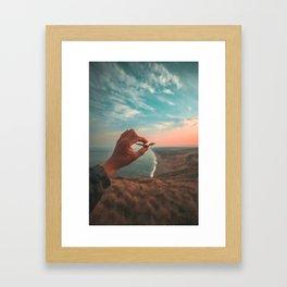 The Golden Snitch Framed Art Print