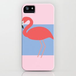 Flamingo -the pink lady iPhone Case