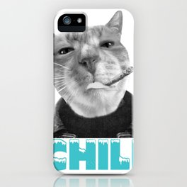 Chill Cat  iPhone Case