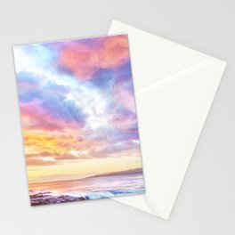 Calm before a storm Stationery Cards