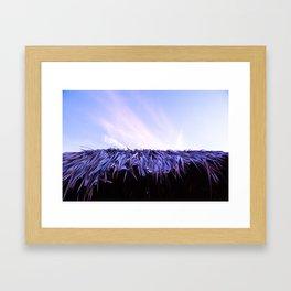 BUNGALOW ROOF Framed Art Print