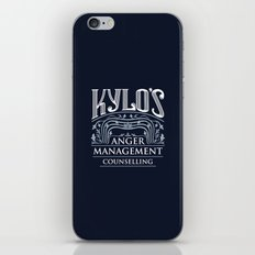 Kylo's Anger Management Counselling iPhone & iPod Skin