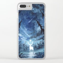 White Stag Clear iPhone Case