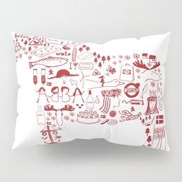 All about Sweden  Pillow Sham