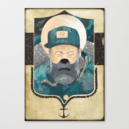 Modern day Pirate. Canvas Print