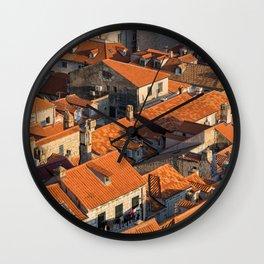 DUBROVNIK 12 Wall Clock