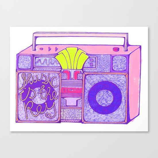 Stereos. Canvas Print