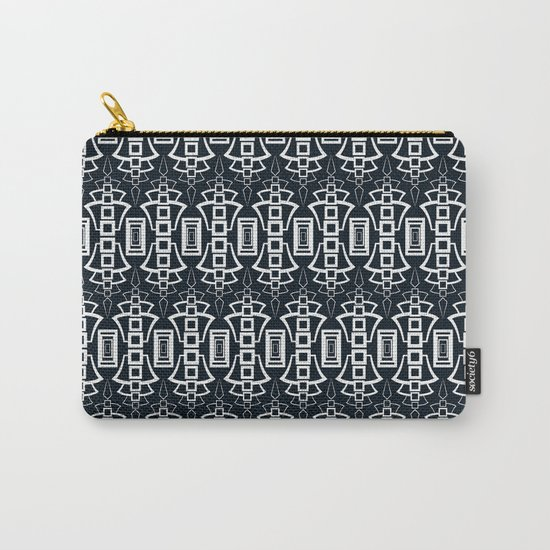 "Art Deco . ""Grey and gray . "" Carry-All Pouch"