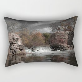 Mission Gorge Dam Rectangular Pillow