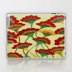 Poppies (warm) Laptop & iPad Skin