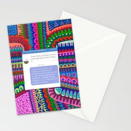 Cover Up- Put Him In His Place Stationery Cards
