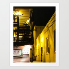 The Night Is So Alone Now Art Print