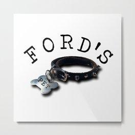 FORD'S PET Metal Print