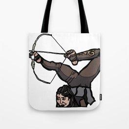 Central Asian Archer (transparent) Tote Bag