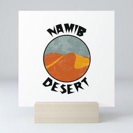 Namib Desert  TShirt Deserts Shirt Sand Dune Gift Idea Mini Art Print