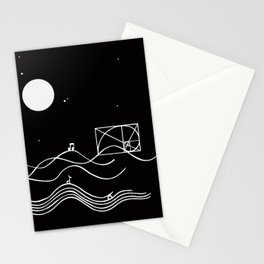 between sound and silence Stationery Cards