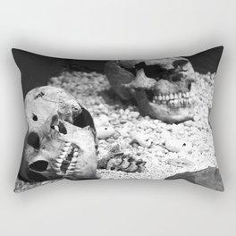Aztec Skull 2 Rectangular Pillow