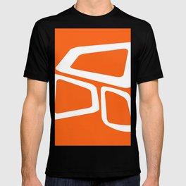 Mid Century In Burnt Orange T-shirt
