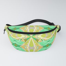 Ultra Classic Chic Psychedelic Floral Geometric Fanny Pack