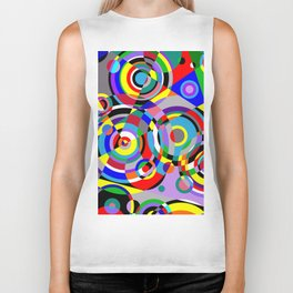 Raindrops by Bruce Gray Biker Tank