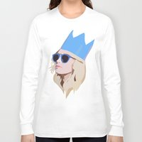 queen Long Sleeve T-shirts featuring Queen by Anna McKay