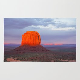 Monument on Fire Rug
