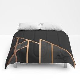 Black & Gold 035 Comforters